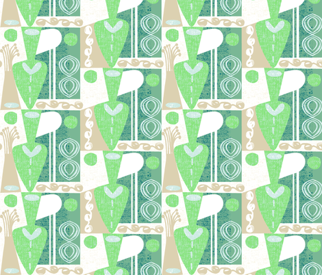 toiling and tilling fabric by ottomanbrim on Spoonflower - custom fabric