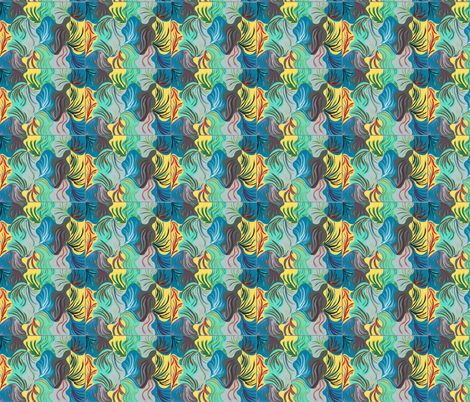 Colors of Summer fabric by missy626 on Spoonflower - custom fabric