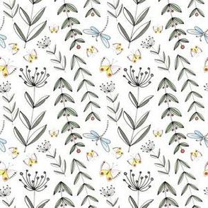 Wild Flowers - White | www.alexcolombo.com