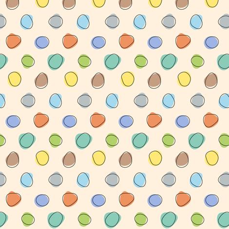 Jungle Dots - Multi fabric by katrinazerilli on Spoonflower - custom fabric