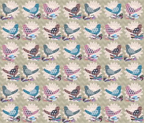 truly tooly yours fabric by scrummy on Spoonflower - custom fabric