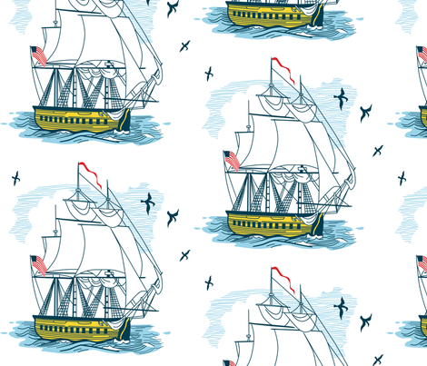 Seaward Bound fabric by chris_jorge on Spoonflower - custom fabric