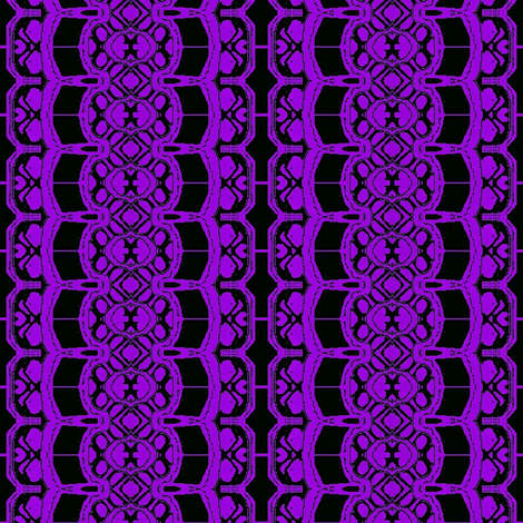 Purple flower lace 01 fabric by dk_designs on Spoonflower - custom fabric