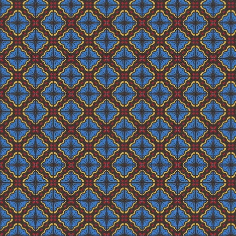 Devilcage Tiles fabric by siya on Spoonflower - custom fabric