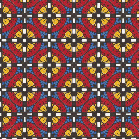 Devilcage Rose fabric by siya on Spoonflower - custom fabric