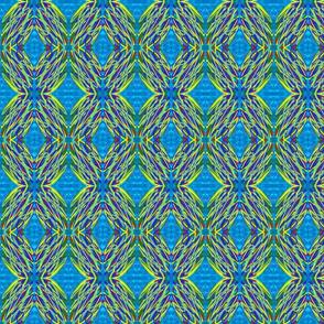 Kaleidscope - electric blue