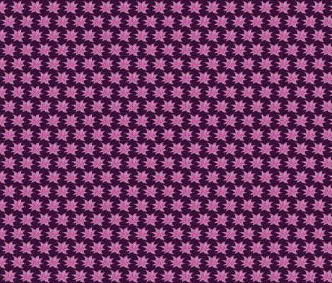 Batik-style flower, purple fabric by yellowee on Spoonflower - custom fabric