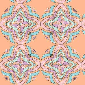 pinwheel kaleidoscope peace