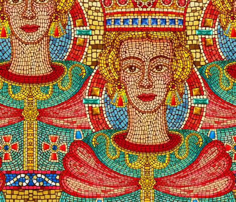 Byzantine Princess fabric by dinorahdesign on Spoonflower - custom fabric