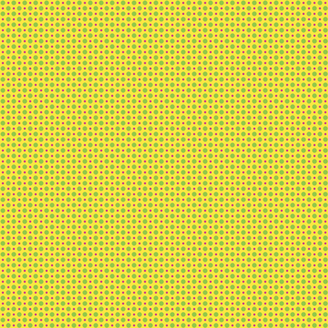 Gepetto Spots - Yellow fabric by siya on Spoonflower - custom fabric