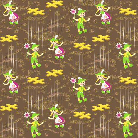 Marionette Love Story fabric by siya on Spoonflower - custom fabric