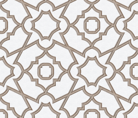 Trellis Lattice fabric by janelle_wooten on Spoonflower - custom fabric
