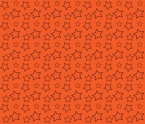 Bay_City_Chicks_Stars fabric by lana_gordon_rast_ on Spoonflower - custom fabric