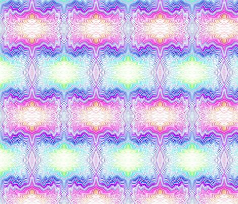 chevron_swirl_pastel rainbow fabric by dsa_designs on Spoonflower - custom fabric