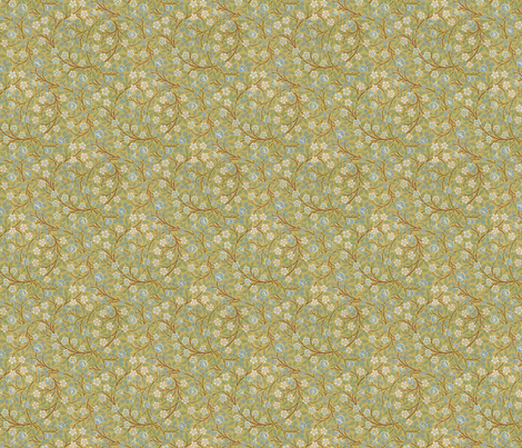 William Morris Vine fabric by ragan on Spoonflower - custom fabric