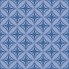 Moroccan Tiles 2 - Blue/Violet