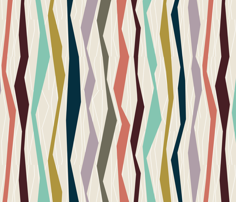 Bloomsbury Stripe fabric by alicia_vance on Spoonflower - custom fabric