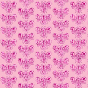 BeeHappy - med - rose  & dusty pink