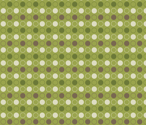 Earth Circles fabric by emily_caraballo on Spoonflower - custom fabric