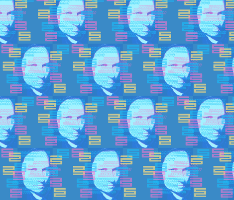 Cyborg fabric by kcs on Spoonflower - custom fabric