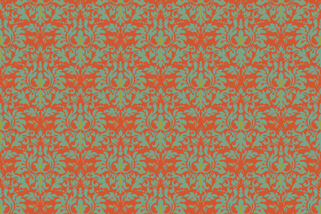 Pepper_Spiced_Damask fabric by kelly_a on Spoonflower - custom fabric