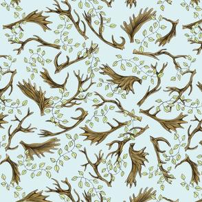 Antlers & Leaves