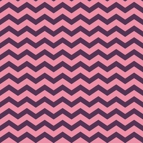 Rock Princess Chevron (Purple & Pink)