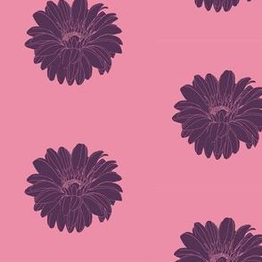 Rock Princess Flower (Purple & Pink)