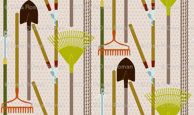 Gardening Tool Line-Up