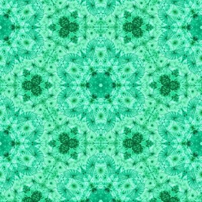 emerald jellyfish kaleidoscope
