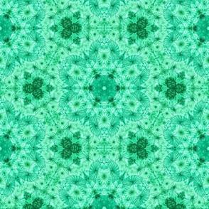 emerald jellyfish kaleidoscope