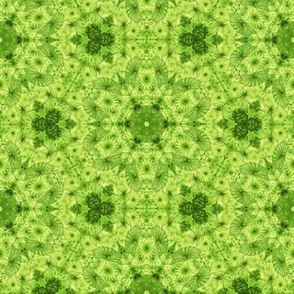 lime jellyfish kaleidoscope
