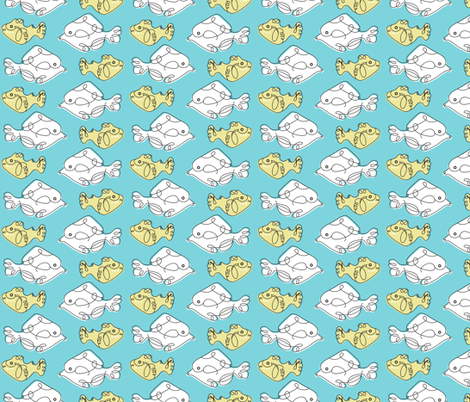 Fish Wish fabric by abloom on Spoonflower - custom fabric