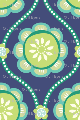 Citrus  Flower BLUE