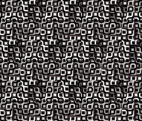 Circle Cubes 1 fabric by animotaxis on Spoonflower - custom fabric
