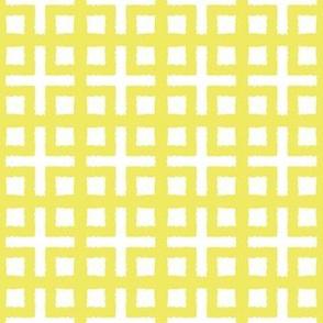 BLOC TRELLIS- chartreusey yellow