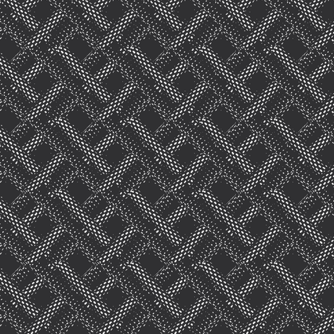 chain squares fabric by susiprint on Spoonflower - custom fabric