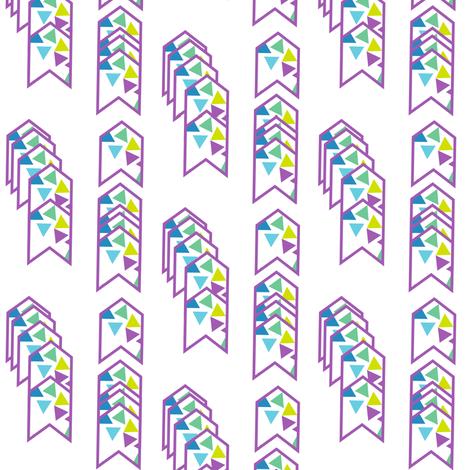 Arrows Striped - Triangled Bliss - Exceptional Skyline - © PinkSodaPop 4ComputerHeaven.com fabric by pinksodapop on Spoonflower - custom fabric