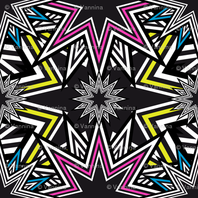 Stars Mosaic (Fluo)