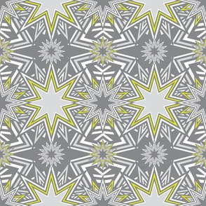Stars_Mosaic_yellow