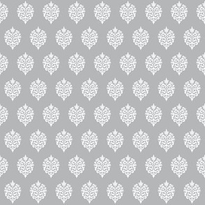 Rock Princess Damask (Gray)