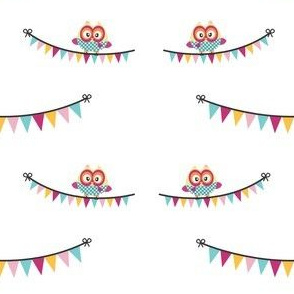 Lovely Owls & Pennants