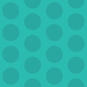 Lovely Owl Dots (Aqua)