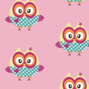 Lovely Owl (Pink)