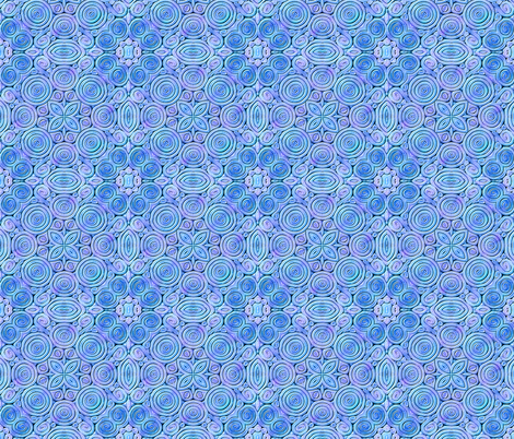 Polymer Clay Extrusion blue/purple fabric by koalalady on Spoonflower - custom fabric