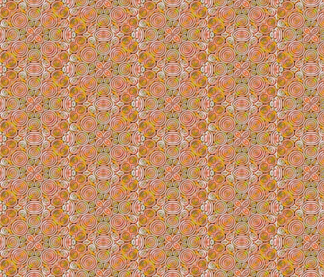Polymer Clay Extrusion peach/tan fabric by koalalady on Spoonflower - custom fabric
