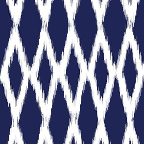 Long Diamond Ikat