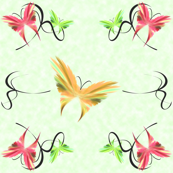butterflies_green