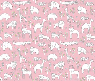 Safari Baby (perfect pink)