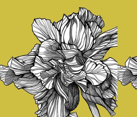 Hibiscusline_pillowfabric_chartreuse_shop_preview